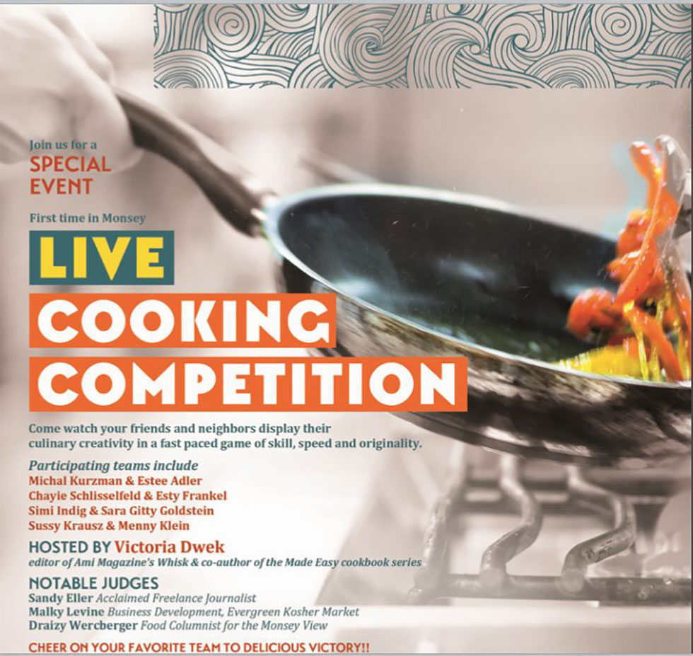 Cooking Competition in Benefit for Ohr V'Daas